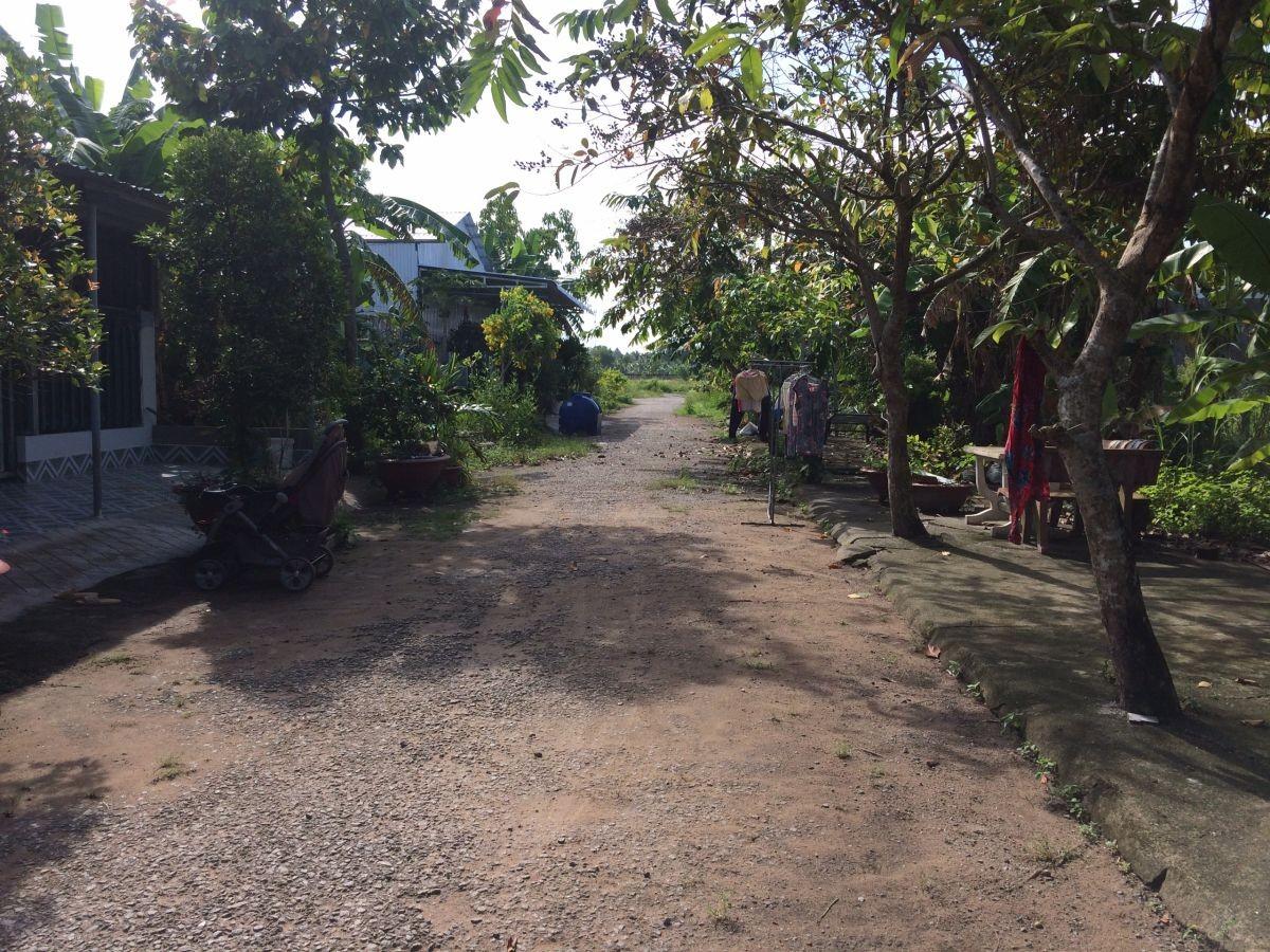 Nền thổ cư, hẻm 156, Nguyễn Trung Ngạn, An Bình, Rạch Giá, Kiên Giang,4.5x29.80, 500 triệu