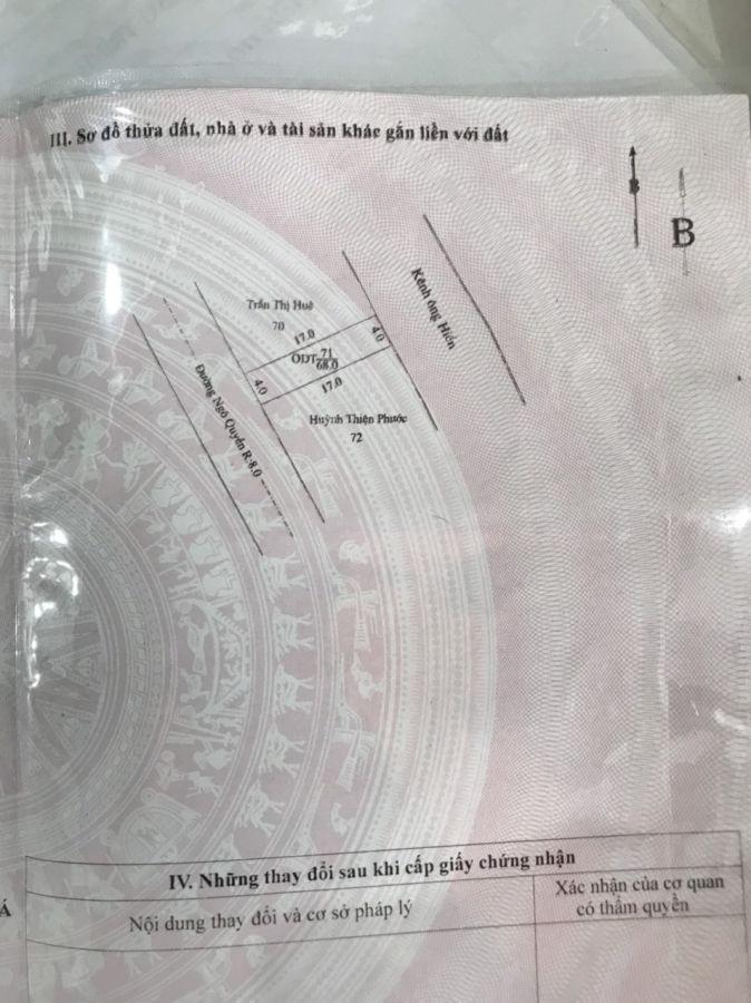 Bán Gấp nhà mặt tiền Ngô Quyền (giá 900 triệu)