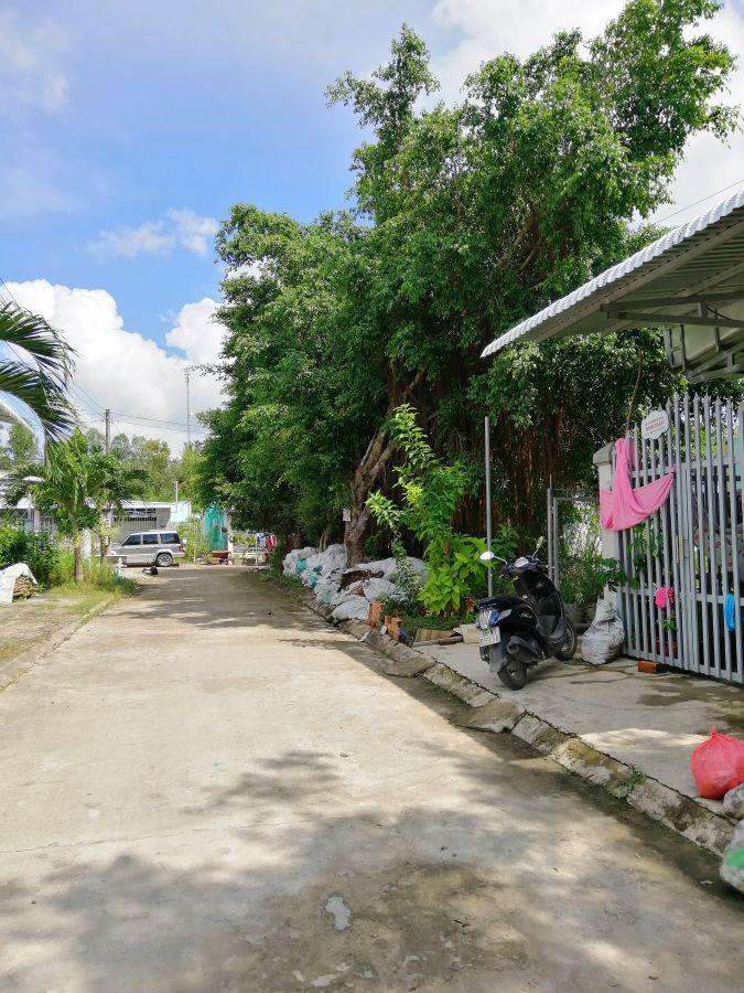Nhà + đất Khu dân cư Hai Lai thị trấn Minh Lương huyện Châu Thành Kiên Giang, có 3 phòng trọ đang cho thuê