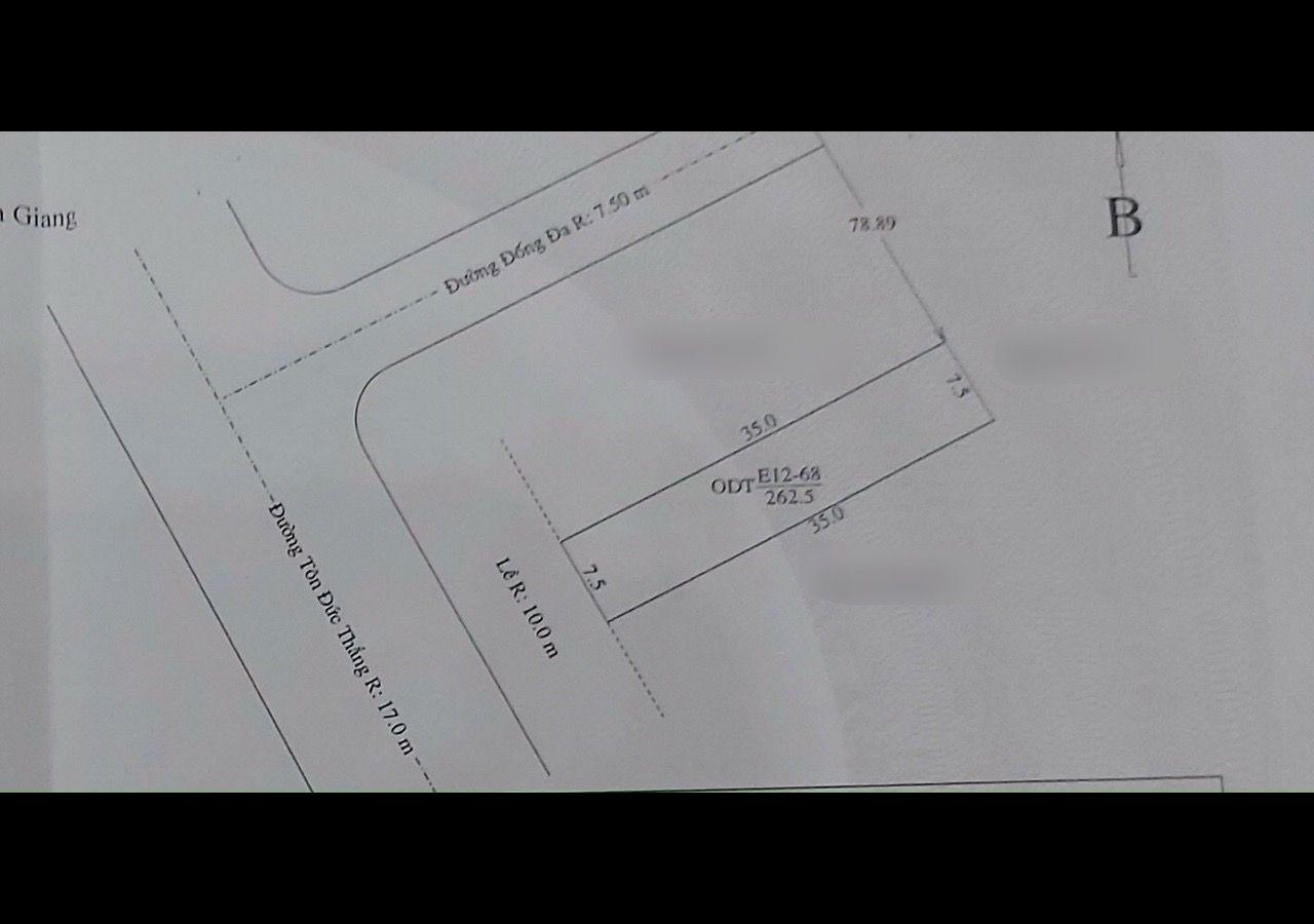 Bán gấp 4 nền liền kề E12 Tôn Đức Thắng, phường Vĩnh Lạc (gần Đống Đa), Rạch Giá, Kiên Giang