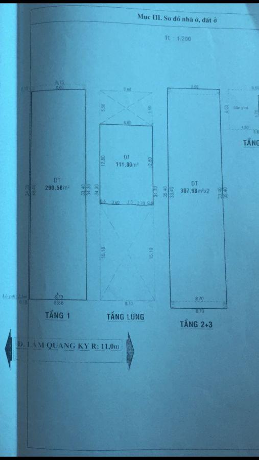 Nhà ở cấp 2 địa chỉ 194 Lâm Quang Ky, Rạch Giá, Kiên Giang