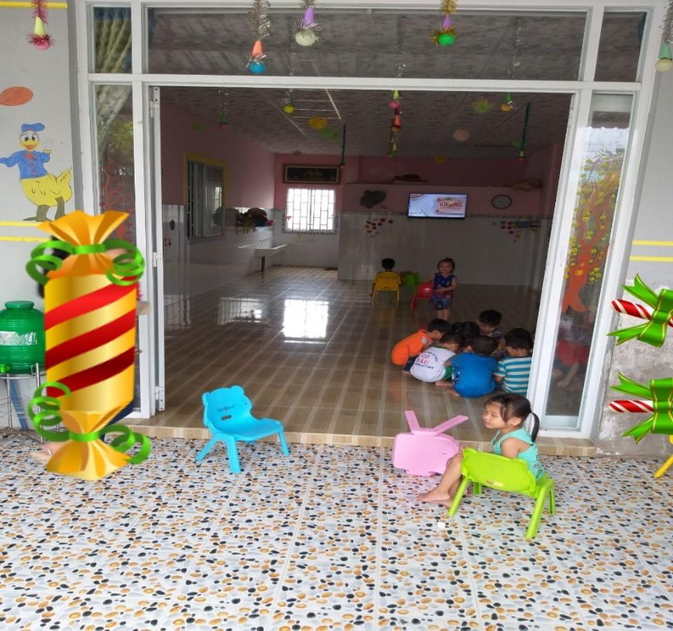 Hạ Giá 300 Triệu. sang lại cơ sở Mầm Non tư thục tại Bình An, Châu Thành, Kiên Giang